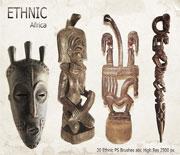 種族部落銅器飾品PS筆刷