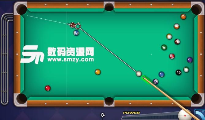 PC腾讯桌球辅助线