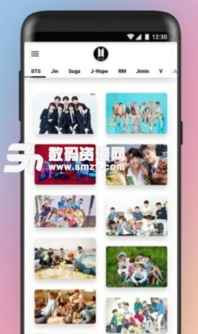 BTS Wallpaper安卓版下载 BTS桌面美化壁纸 v2.3 手机版