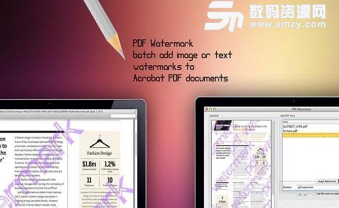 PDF Watermark Mac版图片