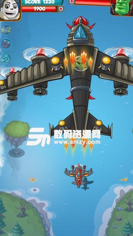 Galaxy Airtoons安卓游戏免费版