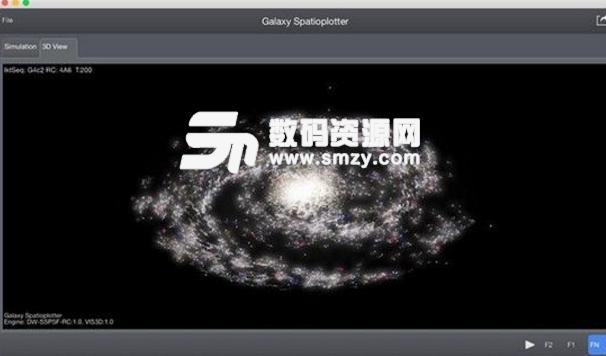 Galaxy Spatioplotter Mac版圖片