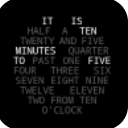 Word Clock Watch Face手機版
