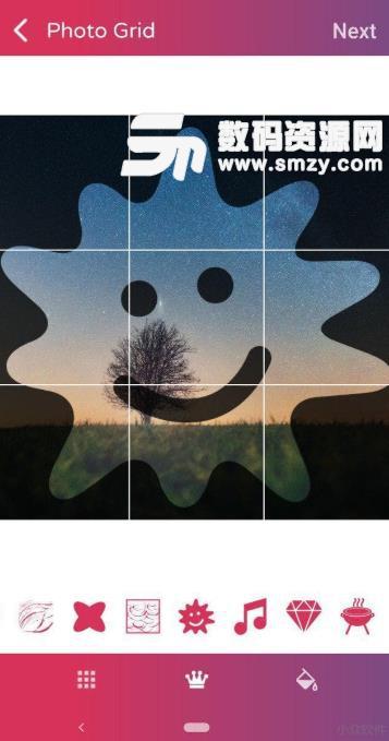 Photo Grids app