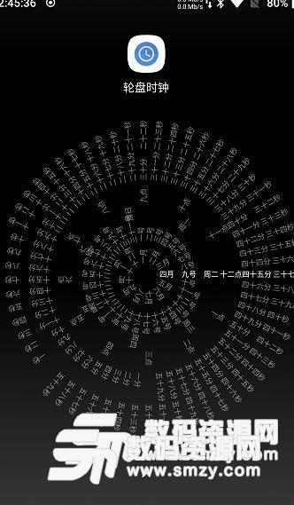 轮盘时钟苹果版图片