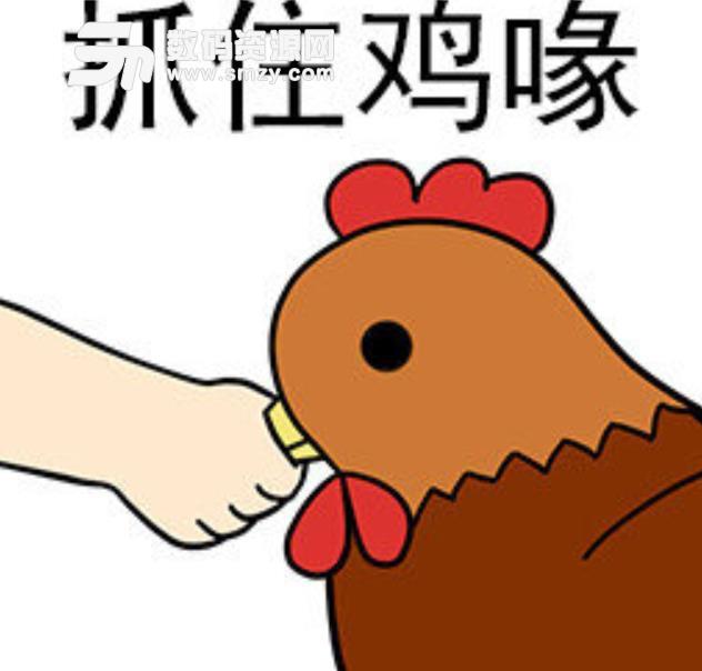 把握鸡喙搞笑表情包下载图片