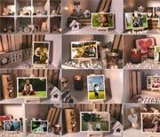 六一孩子成长纪念相册实拍AE模板