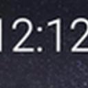 仿电脑桌面时钟app