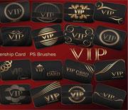 PS會員VIP卡筆刷