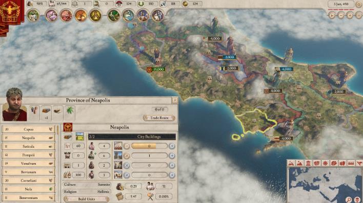 大将军罗马迁移系统