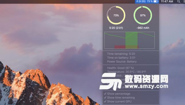 Battery Life Mac版