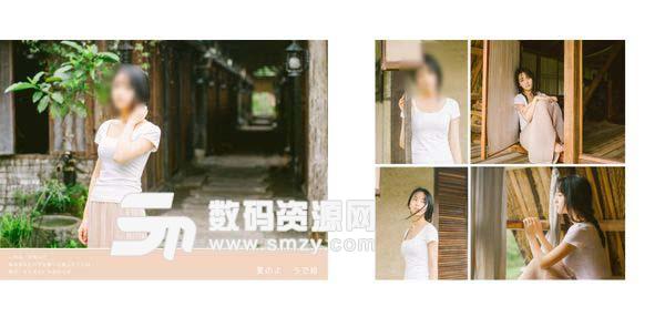 摄影写真模板 夏天 01