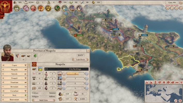 大将军罗马吸人口玩法和吸他道�m子人口玩法适合国家