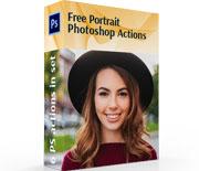 六款photoshop人物肖像后期修饰动作
