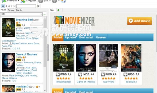 Movienizer免费版截图