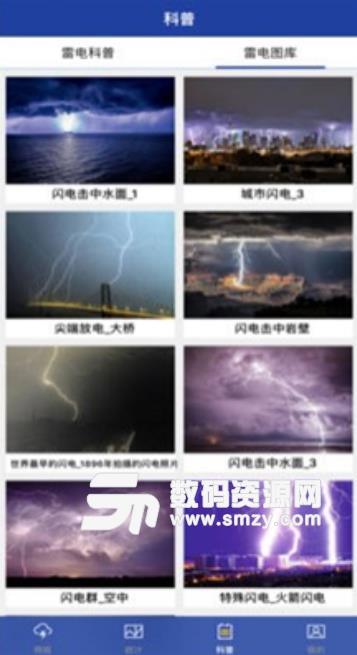 中国雷电气象app手机版截图