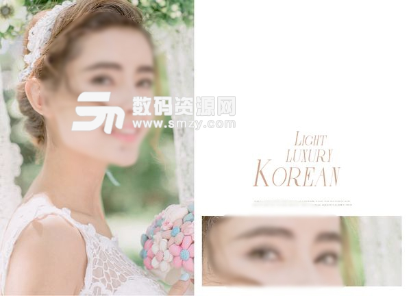 婚纱照相册模板 kore 05