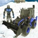 雪地挖掘机手游手机版