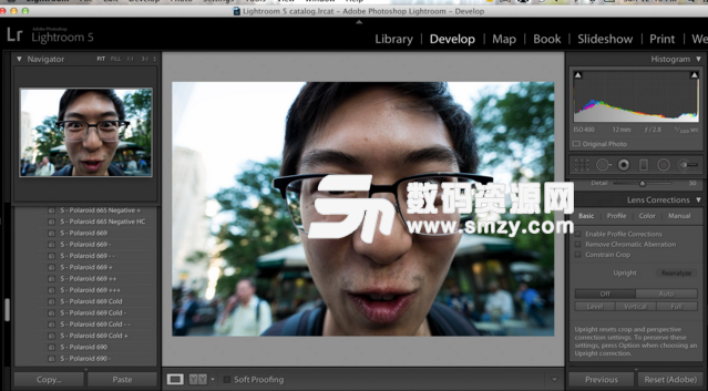 Adobe Lightroom Mac版