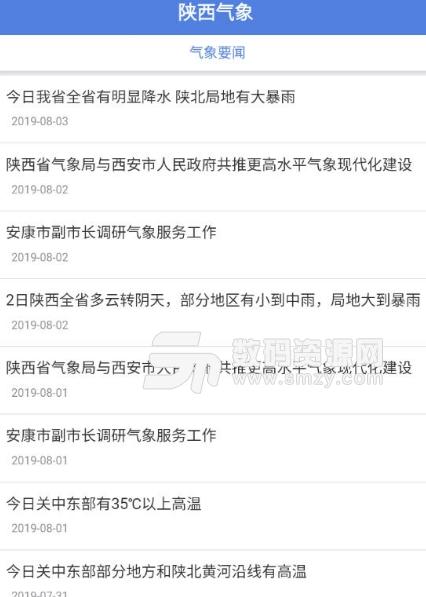 陕西气象app图片
