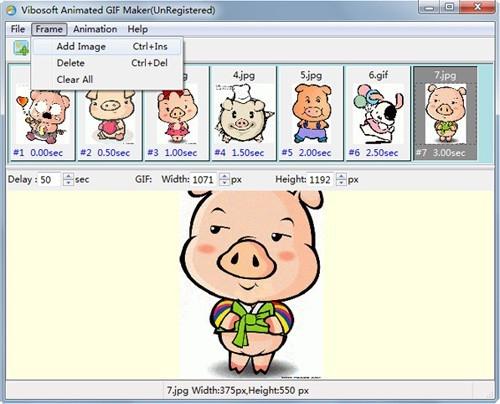 Vibosoft Animated GIF Maker绿色版