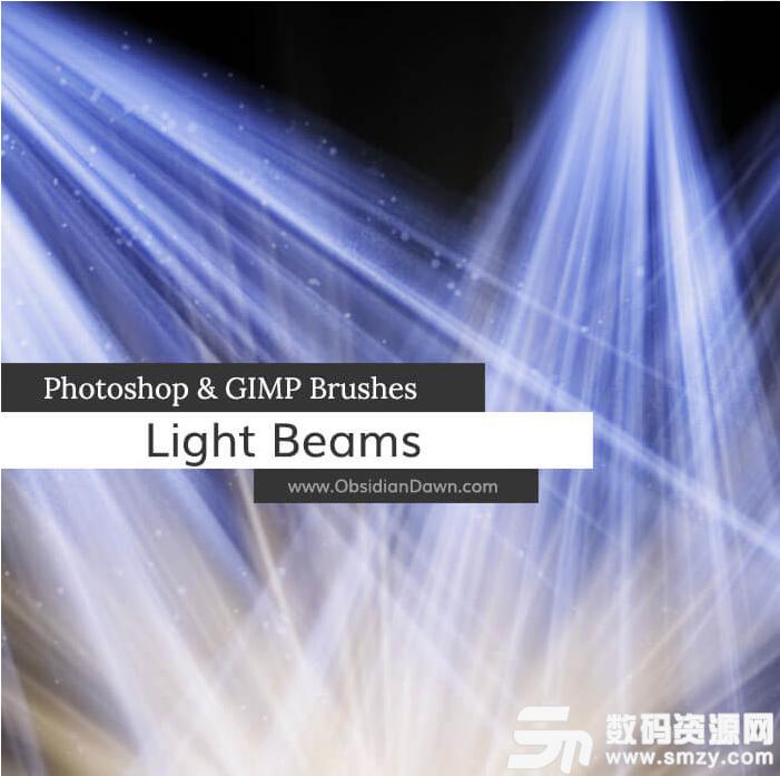 光影照射效果、陽光直射、燈光投影PS光照筆刷素材