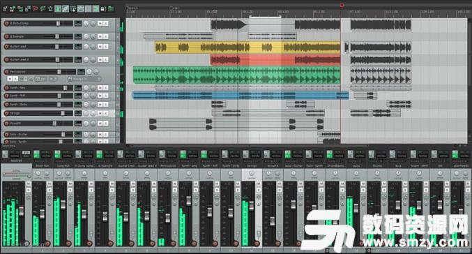 收割者音頻工作站綠色版