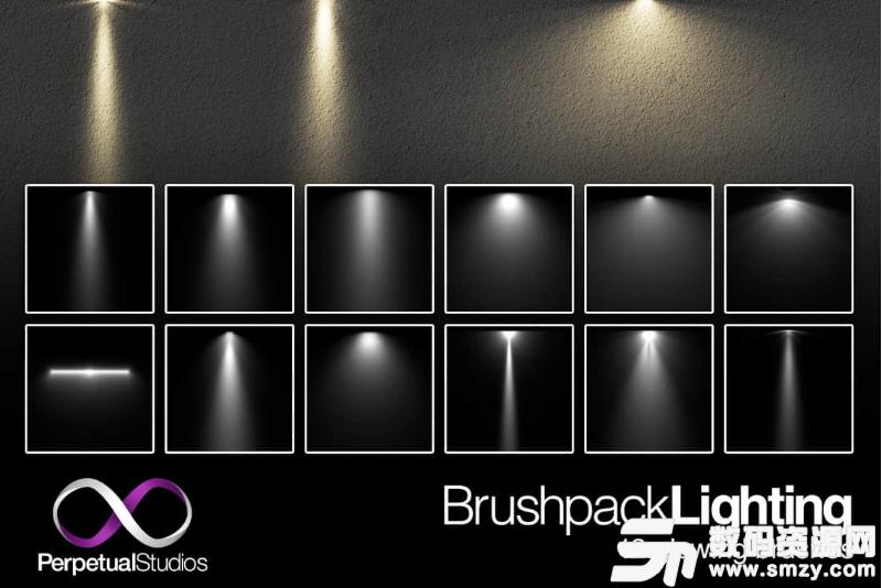專用燈光、照明Photoshop筆刷素材