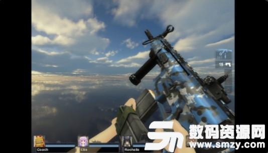 求生之路2SCARH蓝色涂装武器MOD官方版