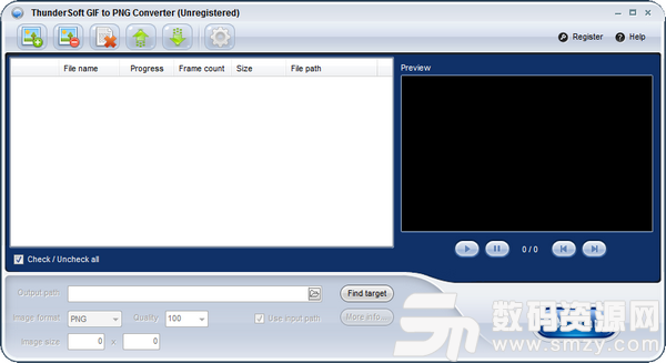 ThunderSoft GIF to PNG Converter(GIF转PNG软件)