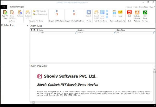 Shoviv Outlook psT Repair最新版