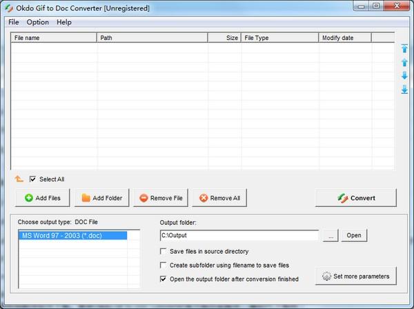Okdo Gif to Doc Converter(图片转文档软件)最新版