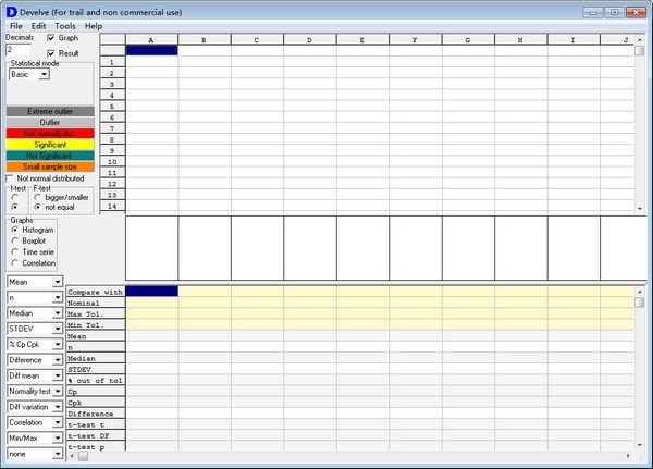 Develve(统计分析软件)绿色版下载