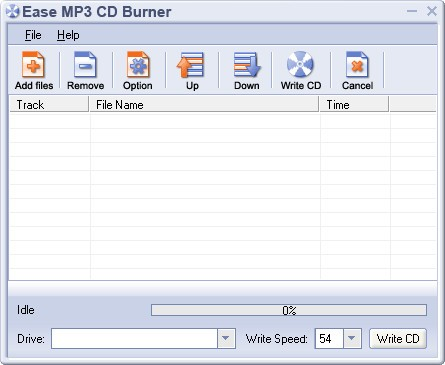 Ease MP3 CD Burner(光盤刻錄工具)v1.60官方版