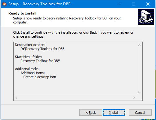 Recovery Toolbox for DBF(DBF修复工具)