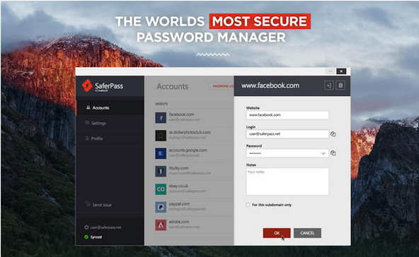 SaferPass Password Manager Mac版特点